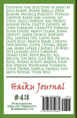 Haiku Journal Issue #43