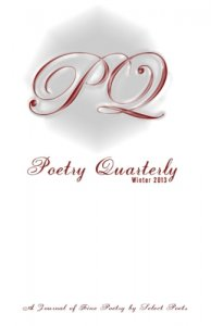 Poetry Quarterly Winter 2013