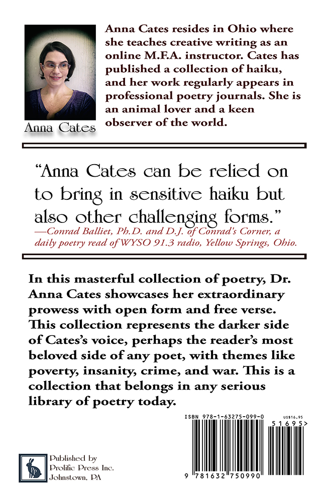 The Darkroom: Poems by Anna Cates - Click Image to Close