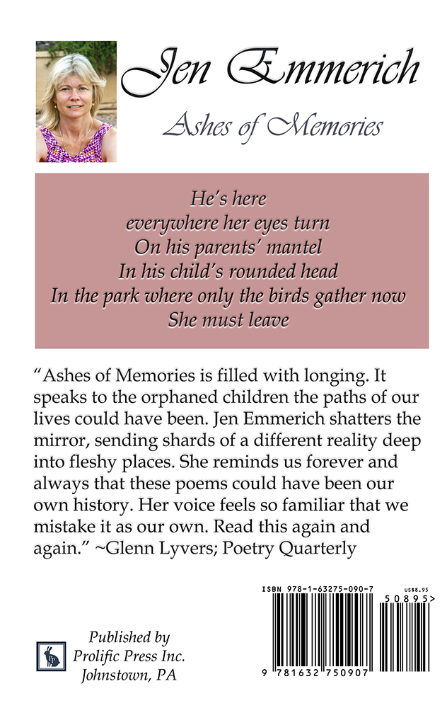 Ashes of Memories by Jen Emmerich - Click Image to Close