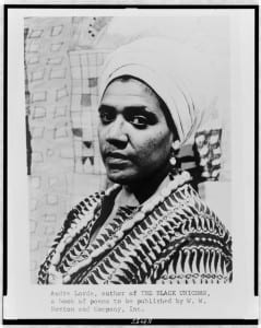 Rediscovering the Warrior-Poet: Finding Audre Lorde at the Library of Congress
