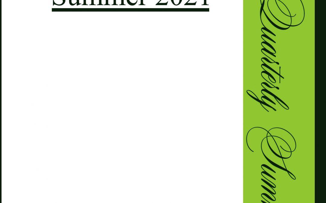 Poetry Quarterly Summer