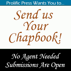 Send us your chapbook